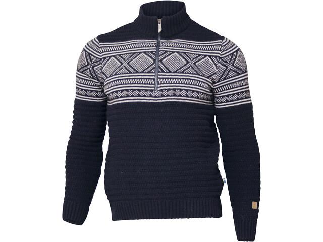 Ivanhoe of Sweden Mattis Half Zip Sweater Men navy